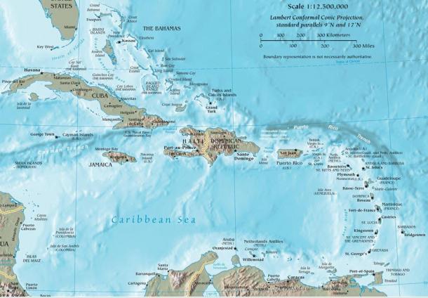 Уникальный подводный город у берегов Кубы: новая теория его происхождения История, Гипотеза, Геология, Длиннопост, Подводный город, Куба, Карибское море