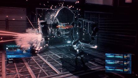 Важные детали в геймдизайне, которые играют большую роль Игры, JRPG, Final Fantasy, Square Enix, Гифка