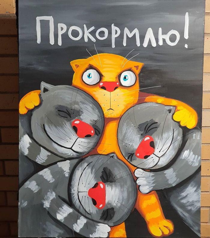 Вася Ложкин: Прокормлю!