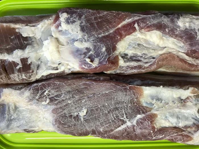 Бекон Панчетта - не классический рецепт Панчетта, Бекон, Грудинка, Свиная грудинка, Сыровяленое мясо, Длиннопост, Кулинария, Рецепт, Еда