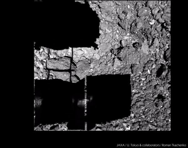 Врежься в астероид, пока он не врезался в тебя! Космос, Астероид, Рюгу, Солнечная система, Гифка, Астрономия, Хаябуса-2