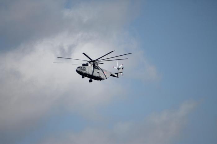 Парад авиатехники 9 мая над СПб