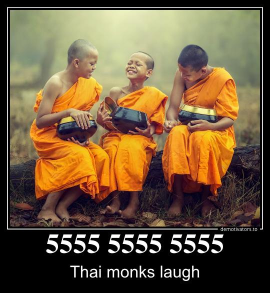5555 или как правильно смеяться онлайн