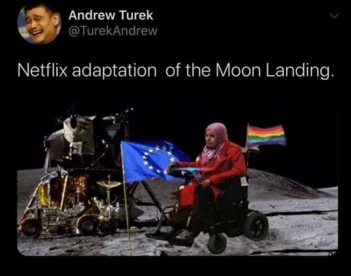 Высадка на Луну от Netflix