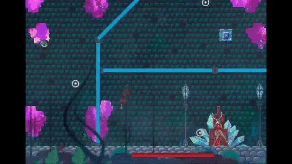 Пост о моей игре. Maytroid Игры, Инди игра, Keys, 2D, Аниме, Metroidvania, Гифка, Длиннопост, Игровые обзоры