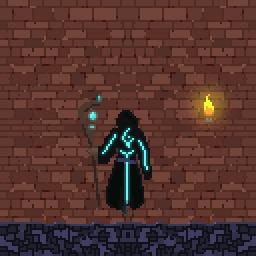 Маг Pixel Art, Цифровой рисунок, Гифка