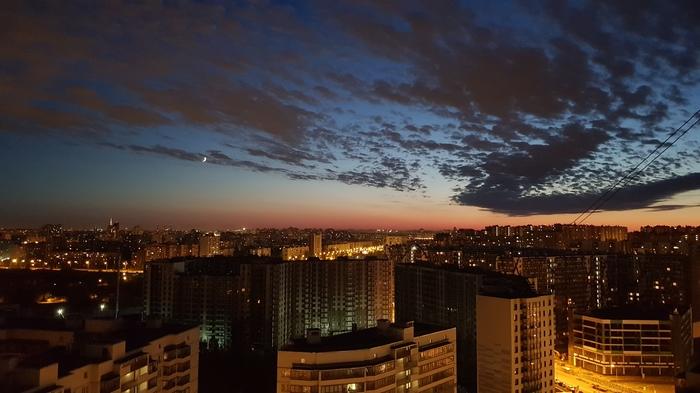 Закат в Кудрово