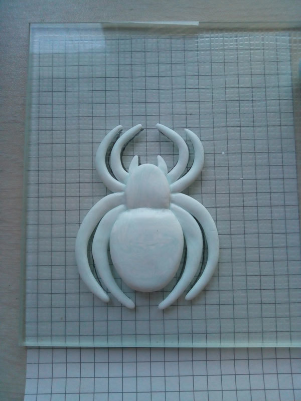 Паук на ноутбук) Паук, Своими руками, Длиннопост, Полимерная глина, Ноутбук, Рукоделие с процессом