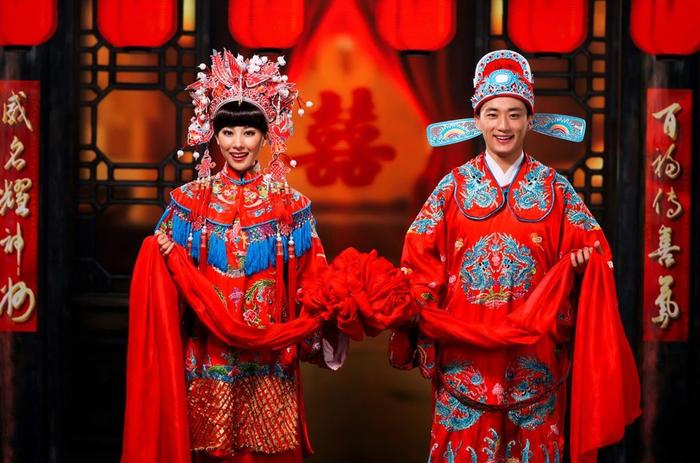 Свадьба в традиционном наряде
