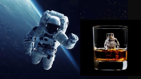 Краткая история алкоголя в космосе или что пьют космонавты Коньяк, Алкоголь, Космос, Космонавты, Астронавт, История, Гифка, Длиннопост, Яндекс Дзен