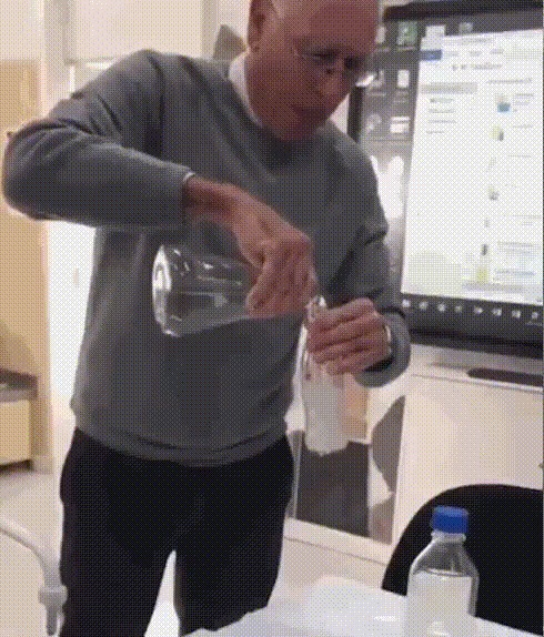 Черная магия Химия, Химическая реакция, Наука, Гифка