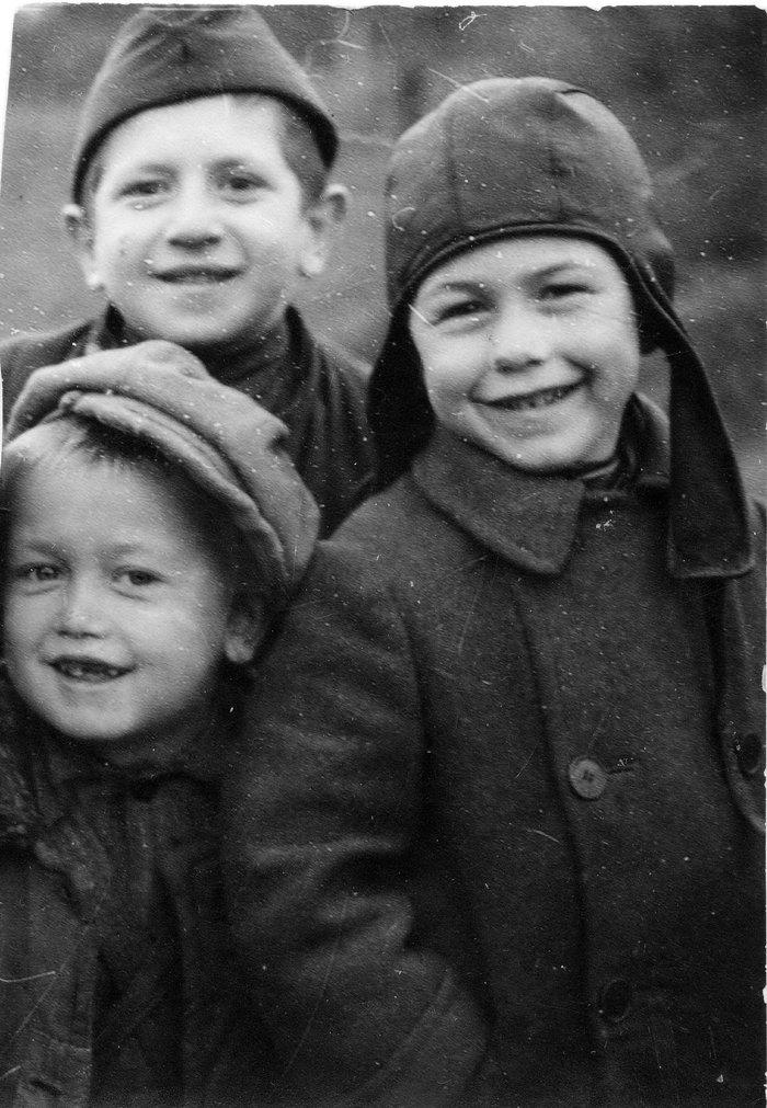 Послевоенные мальчишки