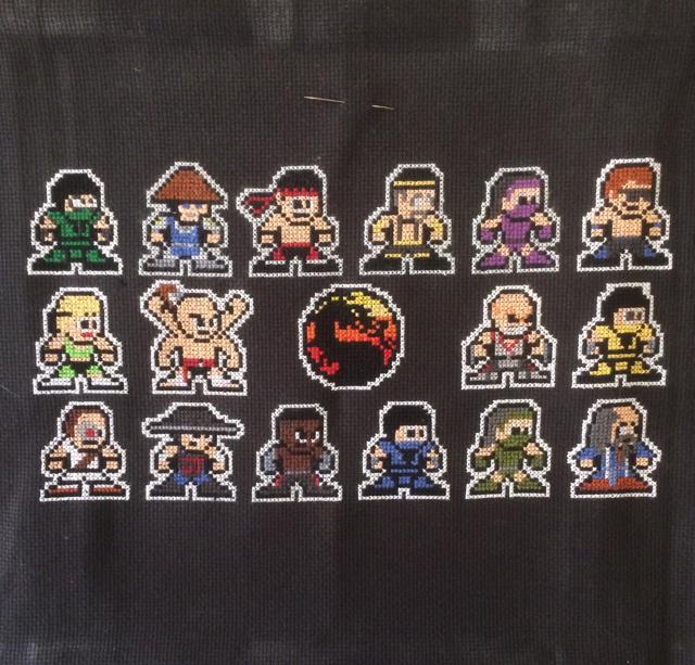 Mortal Kombat крестиком