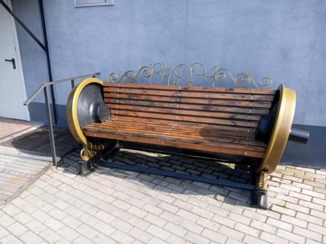 Лавочка при локомотивном депо