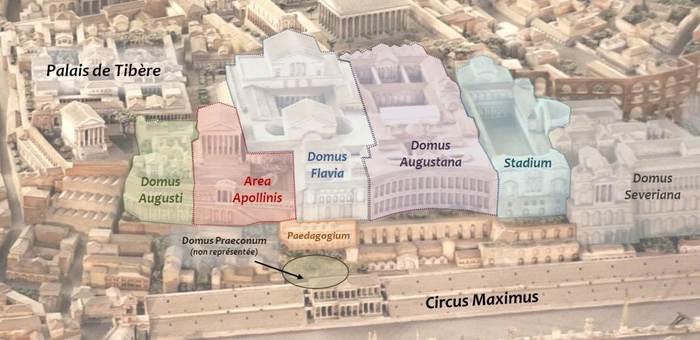 Дворец Домициана Древний Рим, Архитектура, Рим, Длиннопост