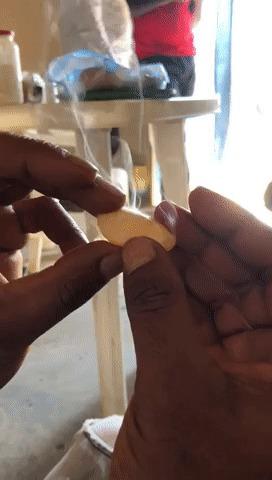 Не трогайте дымящиеся камни (особенно в Африке) Фосфор, Находка, Fail, Reddit, Гифка, Африка, Белый фосфор