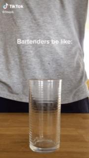 Типичный бармен