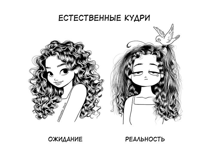Волосы ожидание и реальность