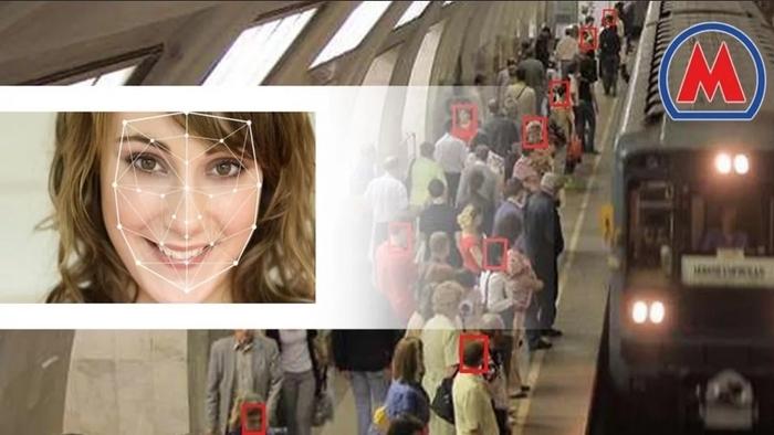 Система распознавания лиц московского метро обнаружила подозреваемого, когда он приспустил медицинскую маску