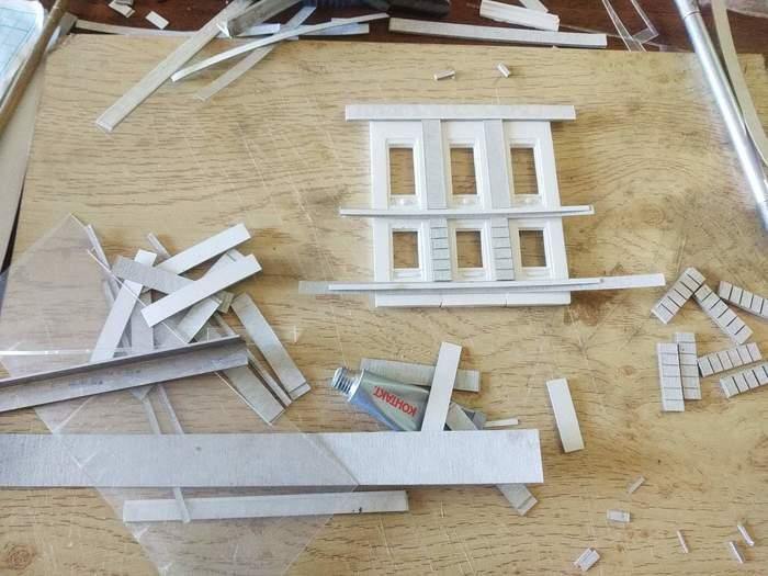 Моделизм не из коробки.Ручная работа особняк.Литье.Часть первая Моделизм, Ручная работа, Архитектура, Творчество, Своими руками, Литье, Длиннопост