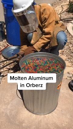 Кораллы из алюминия