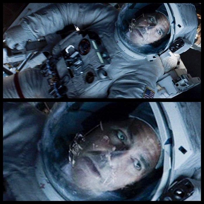 В фильме Гравитация Альфонсо Куарона есть интересная и малозаметная деталь