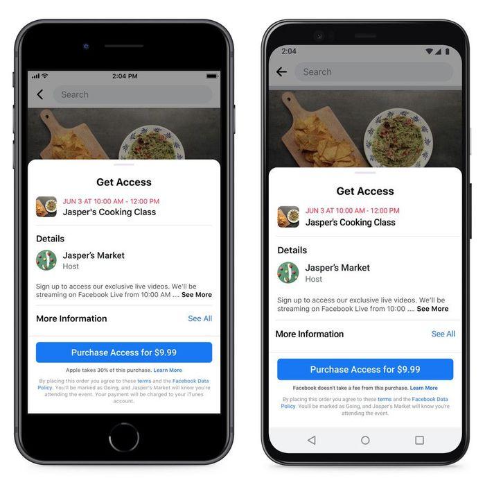 Apple блокирует обновление Facebook, в котором говорится о 30-процентном «налоге» для App Store Новости, Apple, Apple store, Facebook, Налоги, Монополия, Длиннопост
