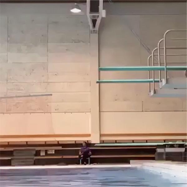 Прыжок в пол оборота Прыжки в воду, Спорт, Fail, Падение, Спортивные девушки, Гифка, Длиннопост