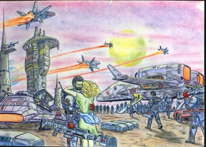 Мои рисунки из 90-х