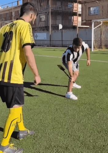 Не хуже, чем в рекламе Nike :) Спорт, Футбол, Смартфон, Съемки, Гифка