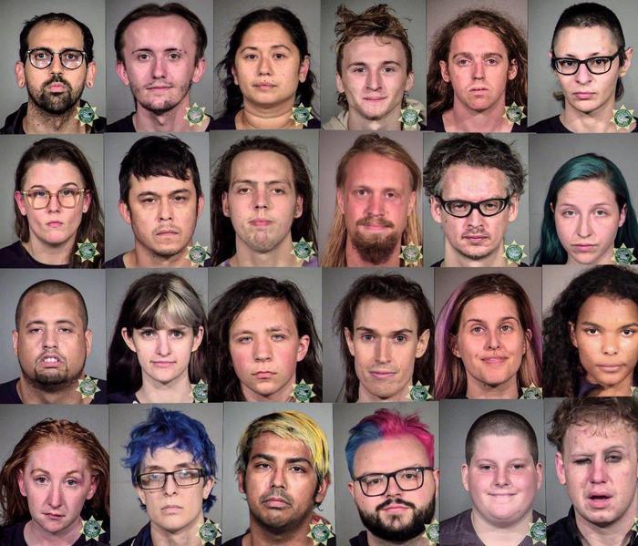Полиция США опубликовала фотографии задержанных участников недавних протестов и актов мародерства