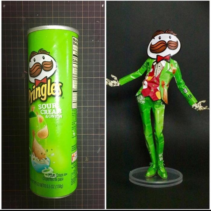 Pringles man