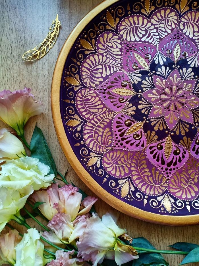 Роспись тарелок своими руками