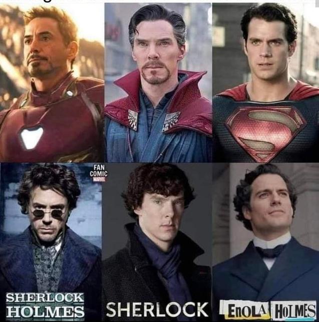 Раз не задалось быть супергероем - иди в Шерлоки