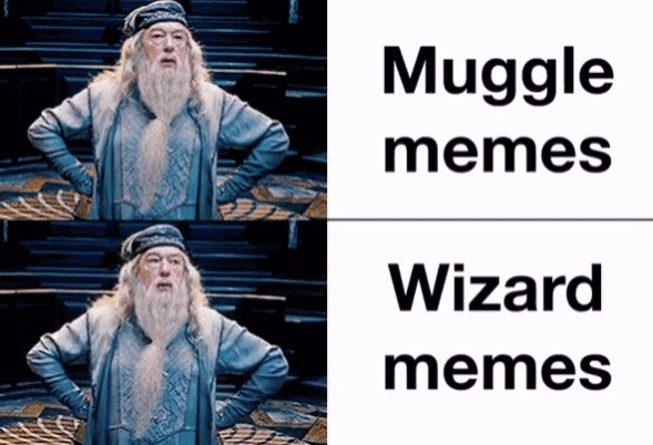 Мемы для маглов и волшебников