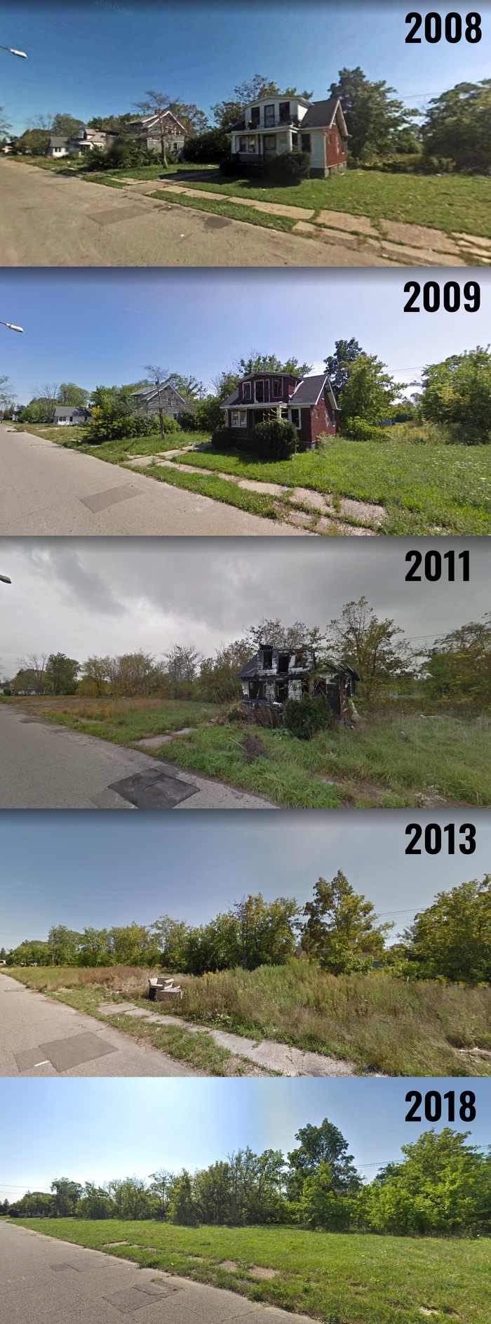 QuotКак менялась одна улица с 2008 по 2018 годquot