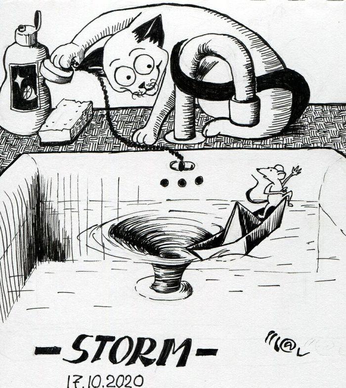 Inktober 2020 - Storm