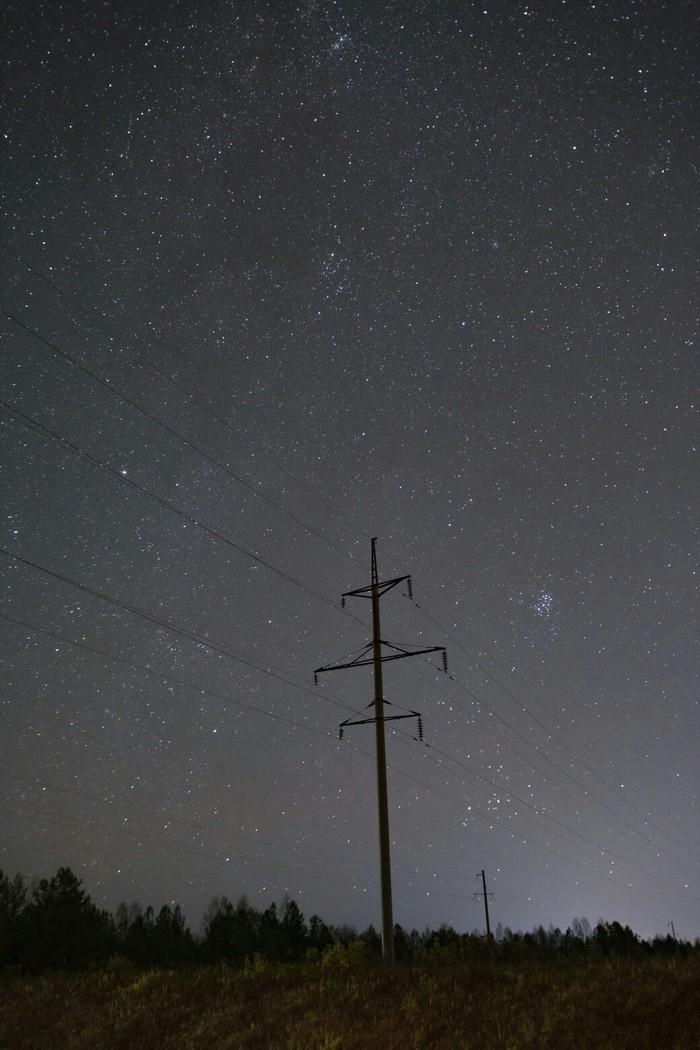 В звёздную ночь просто невозможно не выехать за город