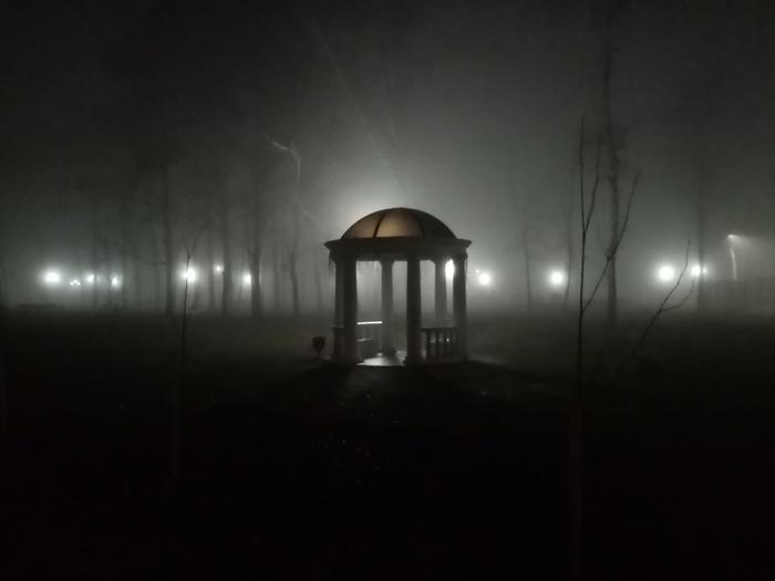 В парке(снято на тапочек)