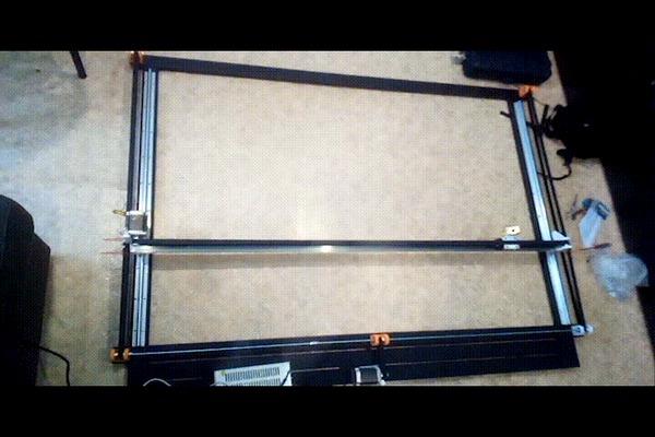Строю новый ЧПУ станок(CO2) Часть 1 ЧПУ, Своими руками, Гифка, Длиннопост
