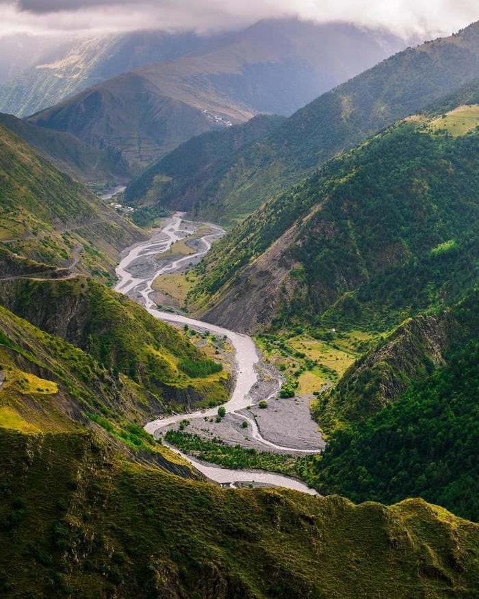 Цахурская долина, республика Дагестан