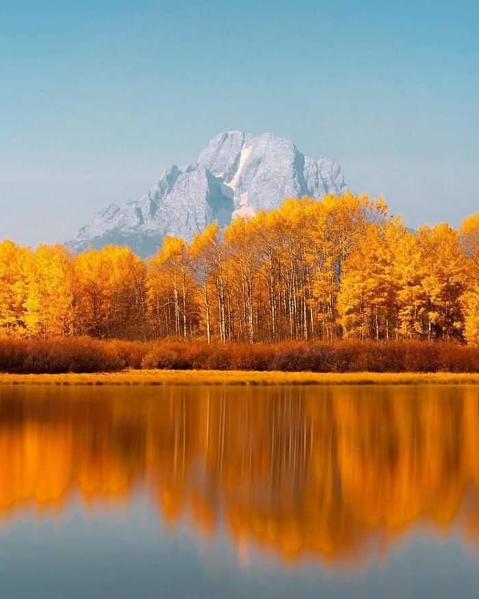 Национальный парк Гранд-Титон в США