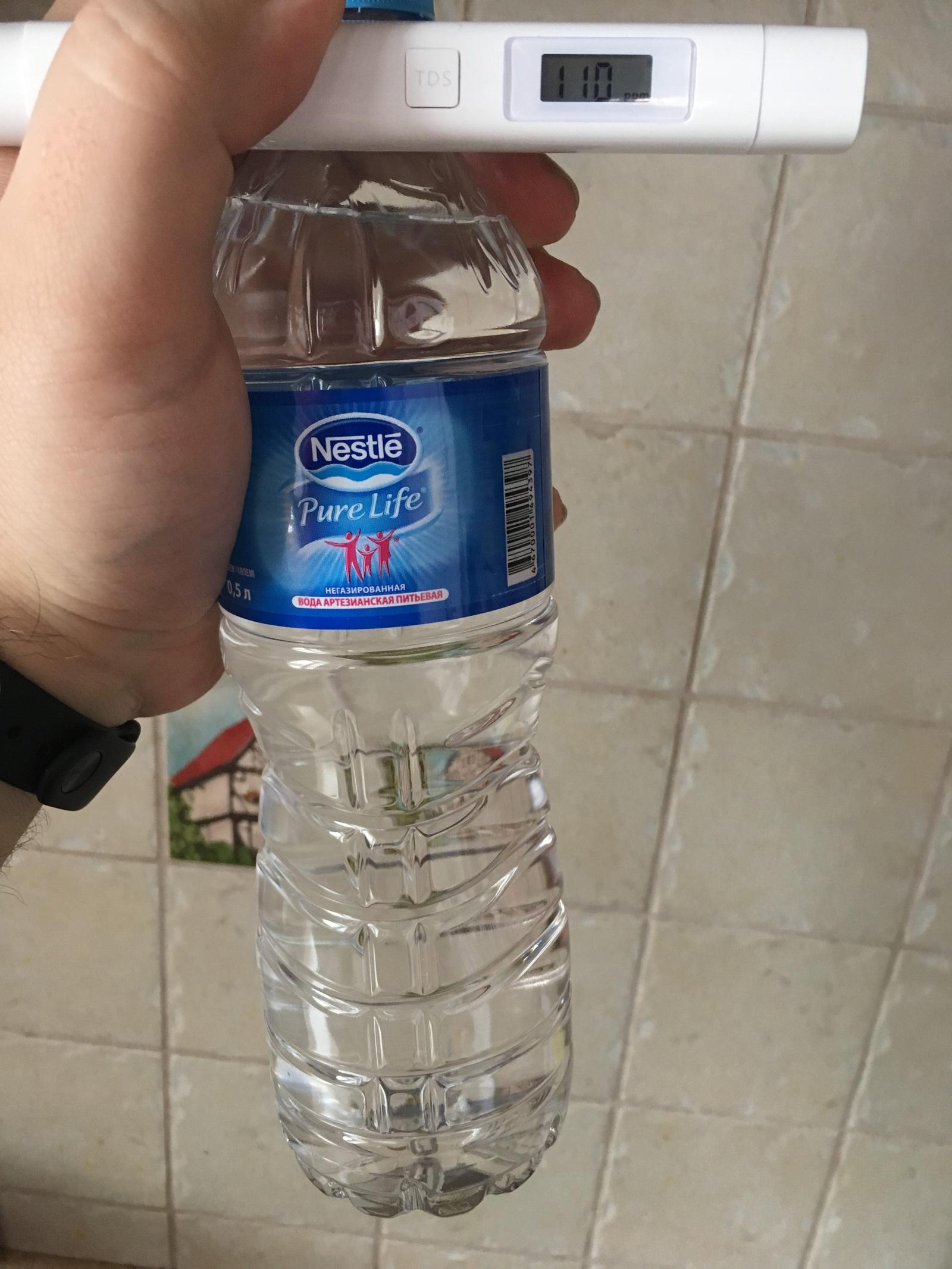 Вода в водопроводе чище, чем бутилированная