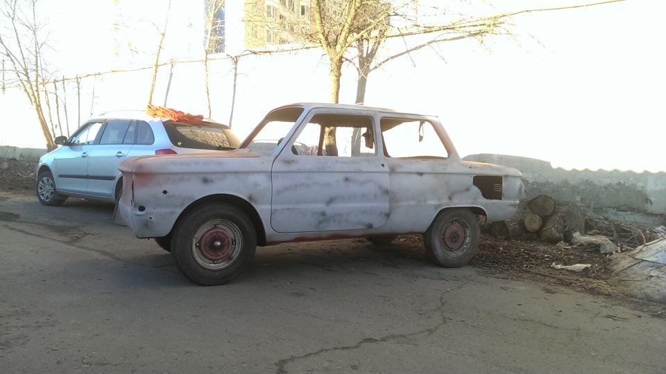 Реставрация автомобиля ЗАЗ-968