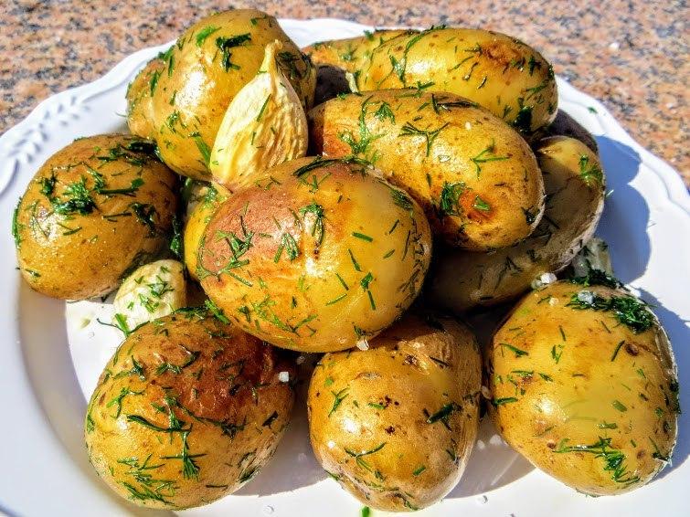Кулинарный рецепт из молодой картошки #6