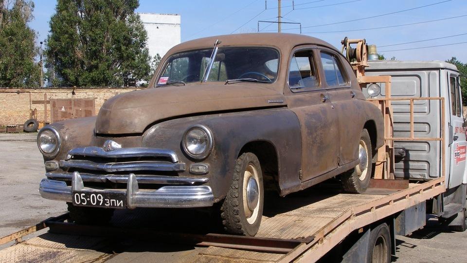 Реставрация автомобиля ГАЗ-М-20