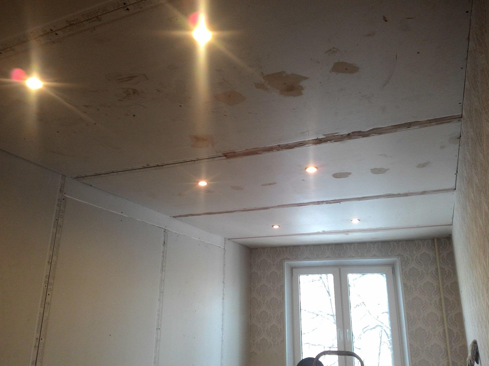 Ремонт потолка в спальне своими руками фото 468