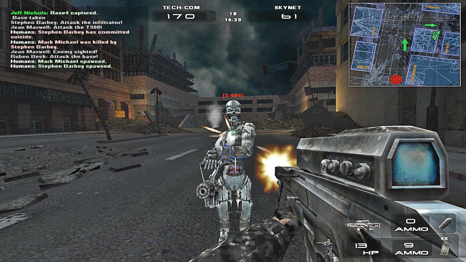 Игру Терминатор 3 Восстание Машин