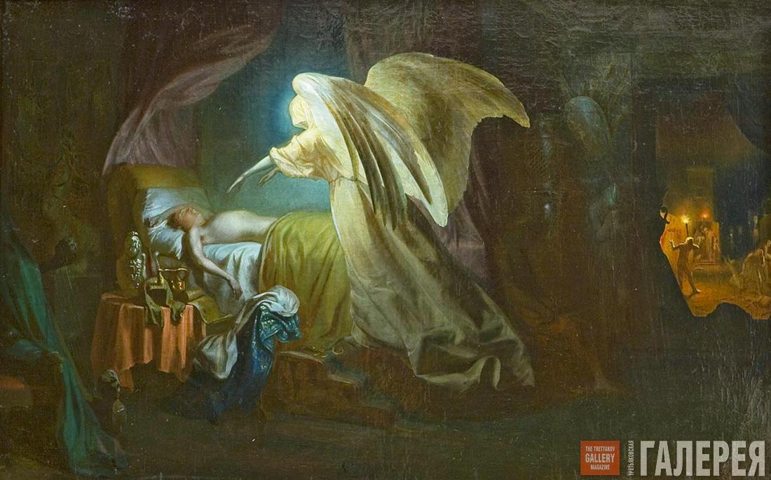 Ангел смерти в мировой живописи | Пикабу