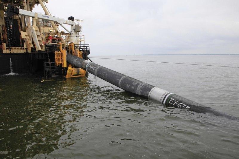 """Как в Балтийском море укладывают трубы для """"Северного потока"""""""